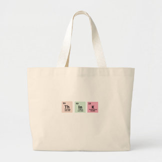 Think - Chemistry Large Tote Bag