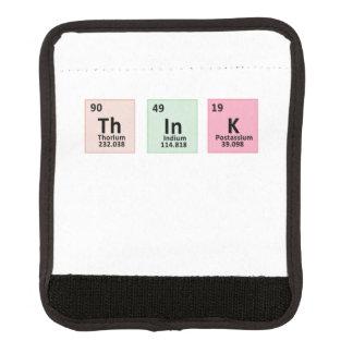 Think - Chemistry Luggage Handle Wrap