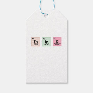 Think - Chemistry Pack Of Gift Tags