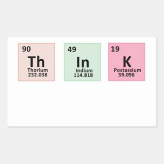 Think - Chemistry Sticker