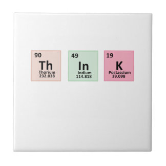 Think - Chemistry Tile