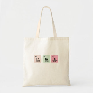 Think - Chemistry Tote Bag