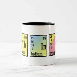 Think Chemistry Two-Tone Coffee Mug