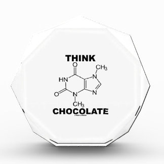 Think Chocolate (Theobromine Molecule Chemistry)