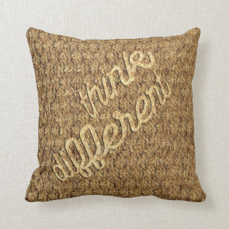 Think Different Throw Pillow