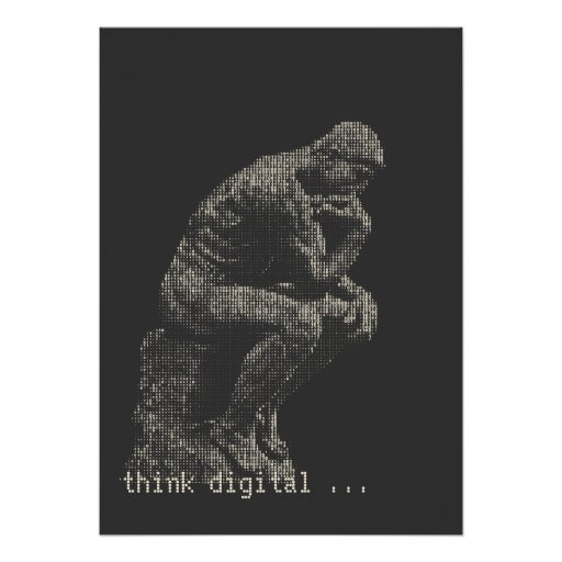 think digital poster