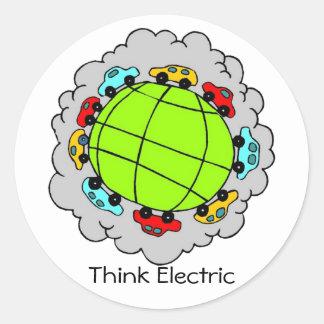 Think Electric Sticker