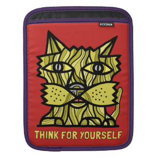 """Think For Yourself"" iPad, iPad Mini, MacBook Air iPad Sleeves"