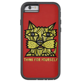"""""""Think For Yourself"""" Tough Xtreme Phone Case"""