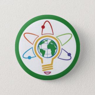 Think Global 2 Inch Round Button