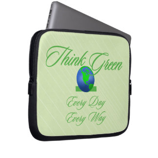 Think Green 2 Neoprene Laptop Sleeve 10 inch
