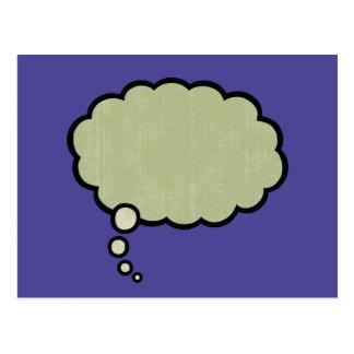 Think Green -516 Postcard