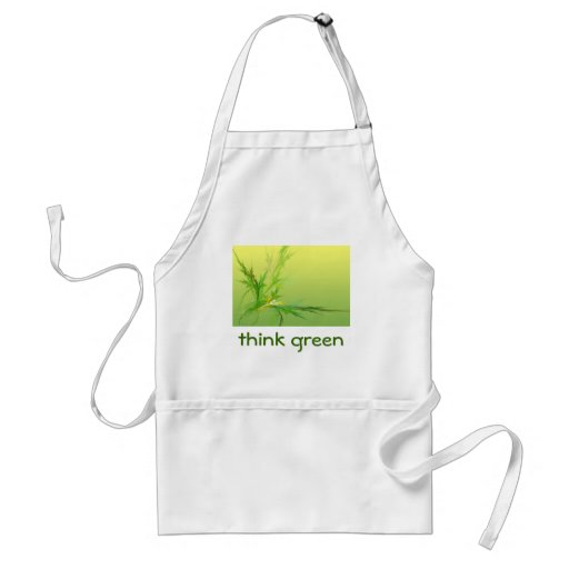 THINK GREEN apron