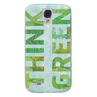 Think Green Awareness Happy Quote