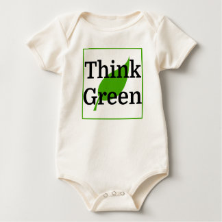 Think Green Baby Bodysuit