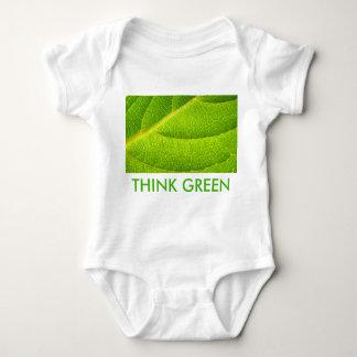 Think Green Baby Onsie Baby Bodysuit