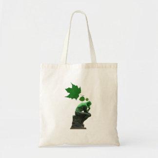 Think Green Budget Tote Bag