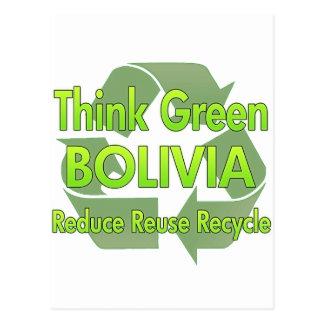Think Green Bolivia Postcard