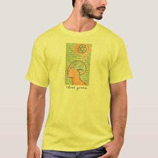 Think Green Brain Power T-Shirt