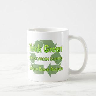Think Green British Virgin Islands Coffee Mug