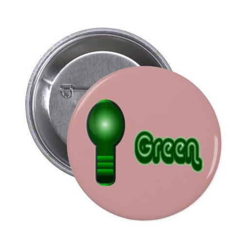 Think Green Pin