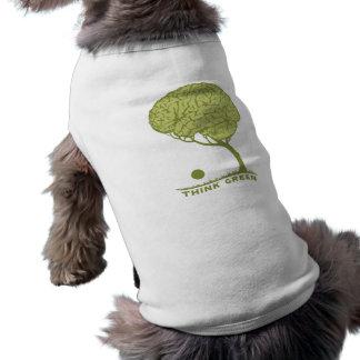 Think Green Dog Shirt