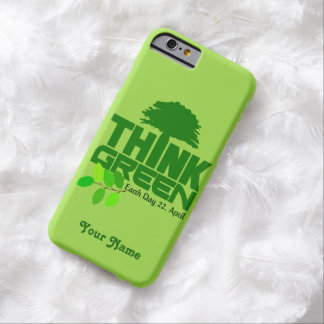 THINK GREEN (Earth Day) custom cases