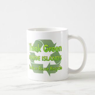 Think Green Faroe Islands Coffee Mug