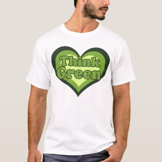 Think Green for Earth Day T-Shirt