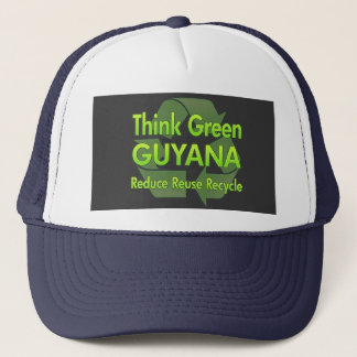 Think Green Guyana Trucker Hat