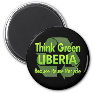 Think Green Liberia Magnet