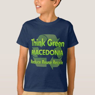 Think Green Macedonia T-Shirt