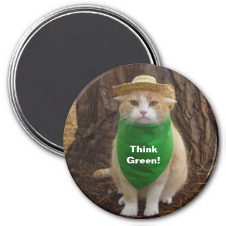 Think Green! Magnet
