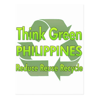 Think Green Philippines Postcard