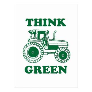 Think Green Postcard