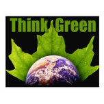 Think Green Postcards