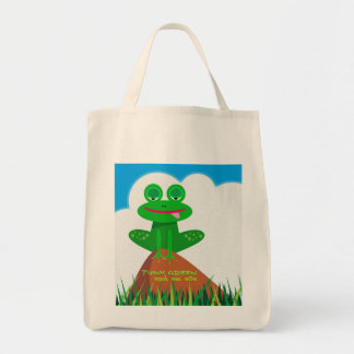 Think Green: Recycle. Reuse. Restore. Tote Bag