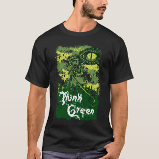 Think Green Swamp Monster Noteworthy T-Shirt