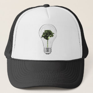 Think Green Think Smart Trucker Hat