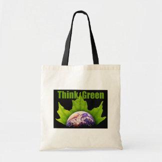 Think Green totebag Tote Bag