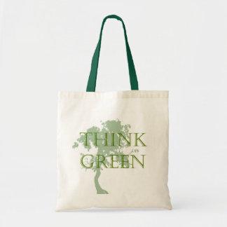Think Green Tree Bag