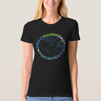 Think Green World T-Shirt