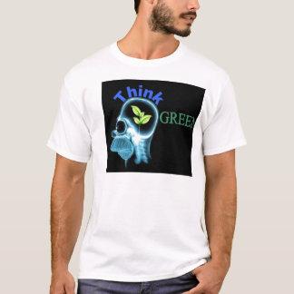 think green x-ray shirt