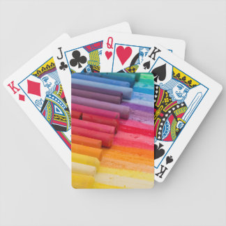 think in color bicycle playing cards