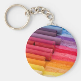 think in color keychain