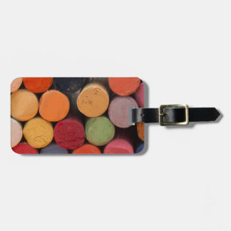 think in color luggage tag