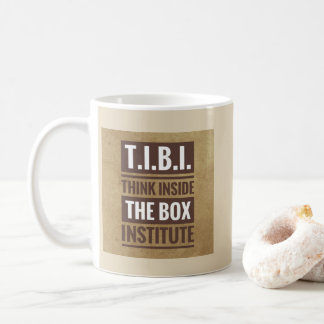 Think Inside the Box Coffee Mug