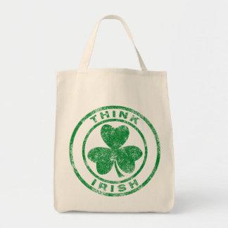 Think Irish Tote Bag
