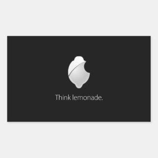 Think Lemonade! Sticker