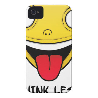 Think less, stupid more iPhone 4 Case-Mate cases